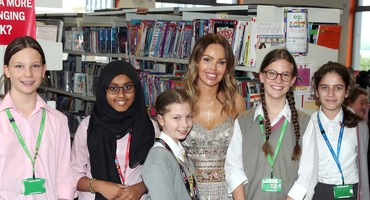 Katie Piper's Visit to EGA