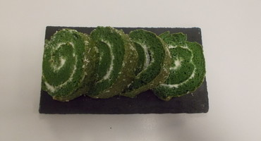 Spinach and Cream Cheese Roulade