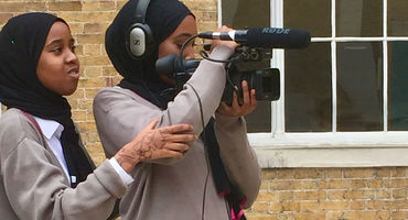 EGA Film students behind the cameras at UCL