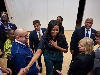 Michelle Obama's Visit 2018