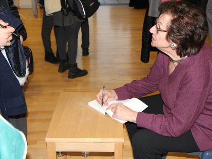 Talk by Zahava Kohn, Holocaust Survivor, 2019