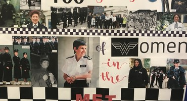 Posters Celebrating 100 Years of Women in the Met Police