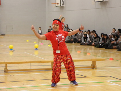 Red Nose Day Benchball: Staff V Students